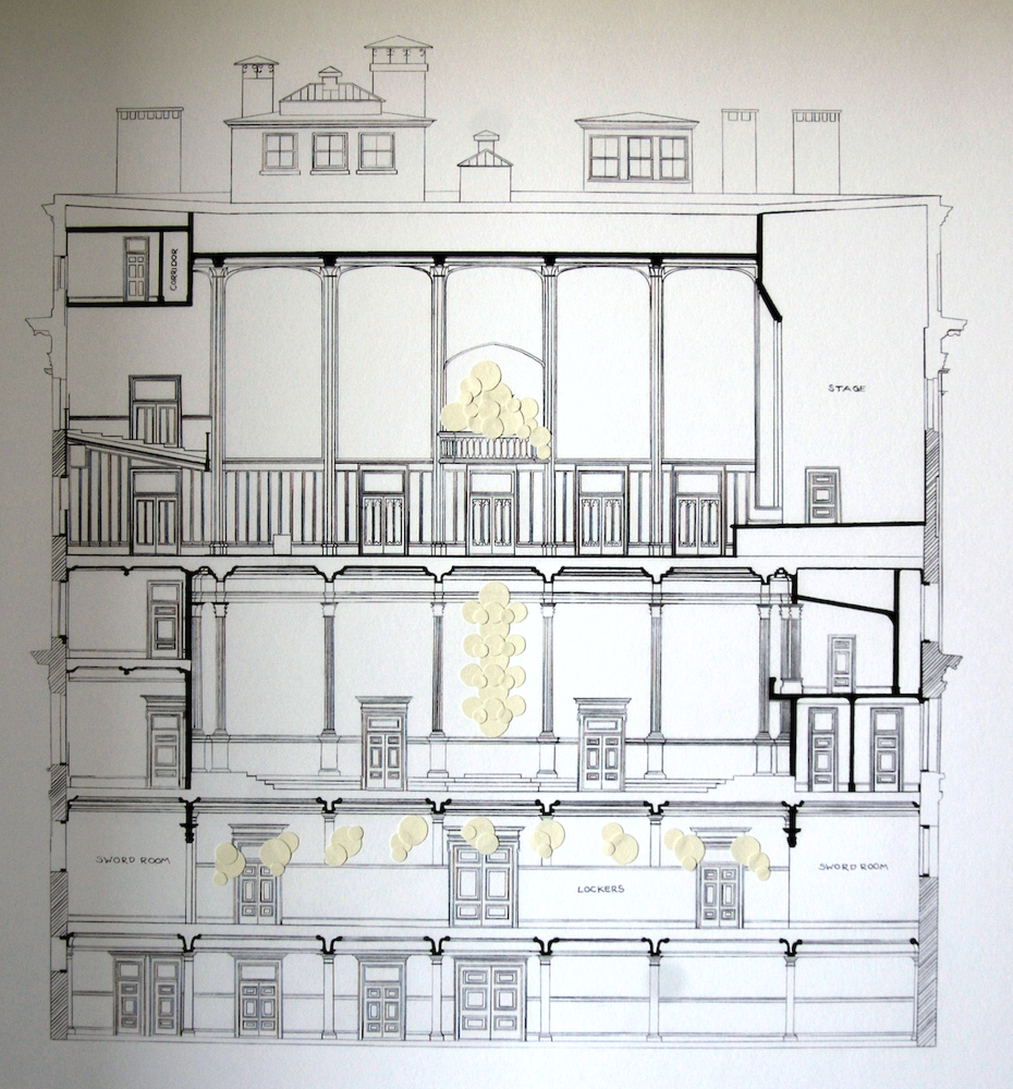 Architectural Drawing + Collage
