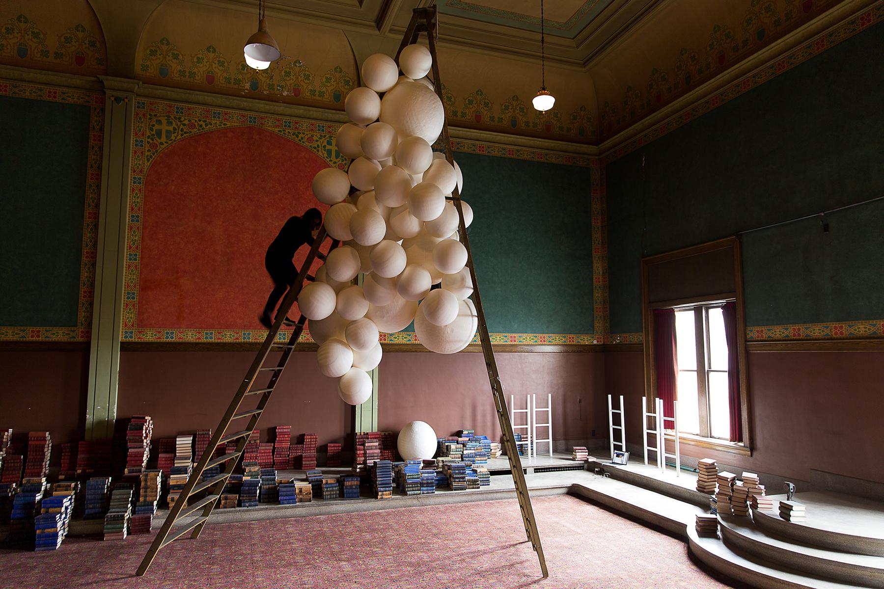 Installation Mock-Up, Eastern Star Hall Studio