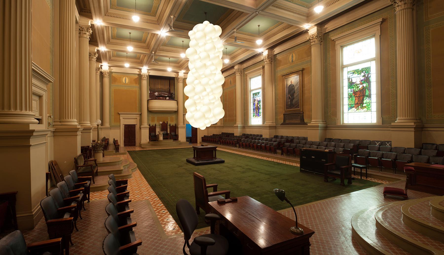 Corinthian Hall Photoshop Mock-Up