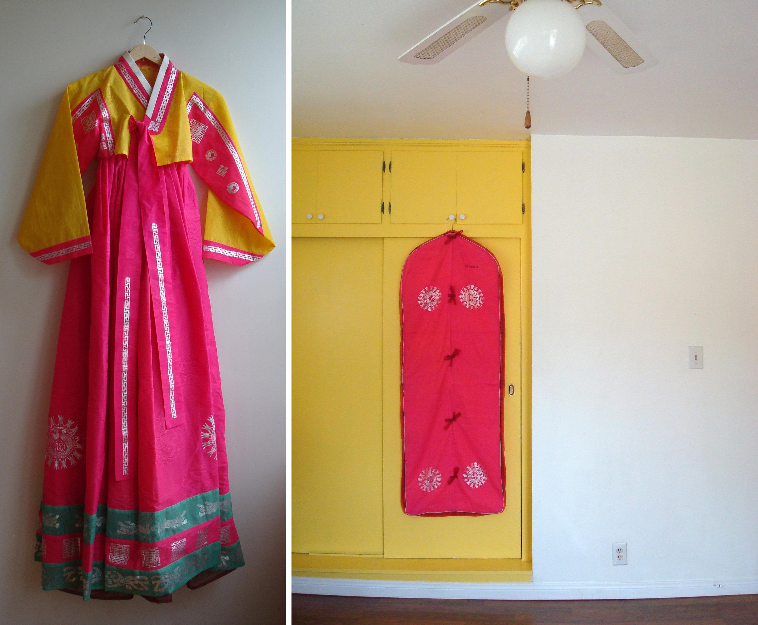 Korean Wedding Skirt (Chima)