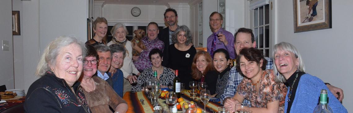 Pot Luck at home of Pat Davies - Jan 2, 2015