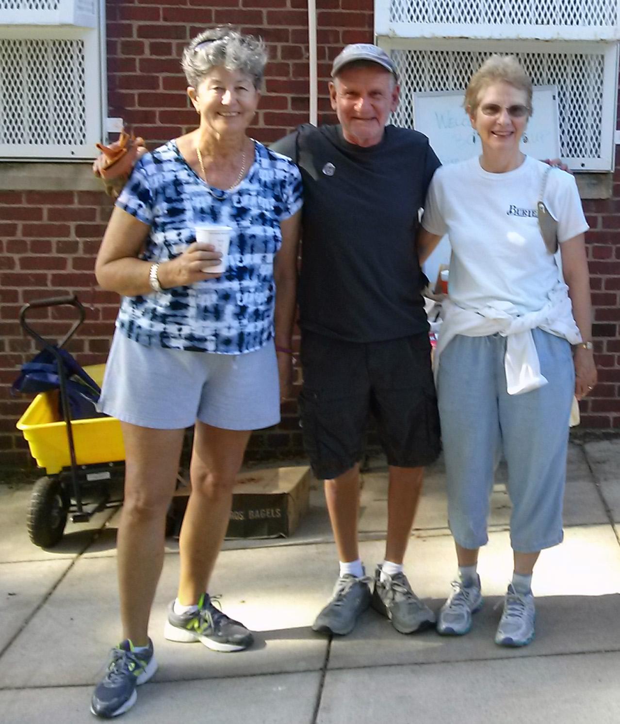 candace pallandre, stu Mathews, and linda brooks. photo by Janice sims.