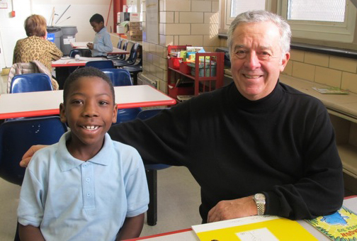 forging one-on-one relationships benefits both student and adult. Photos courtesy of Communities in Schools.