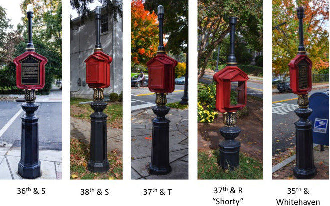 """""""Before and after"""" (as of Nov. 1) photos by linda brooks and ross schipper."""