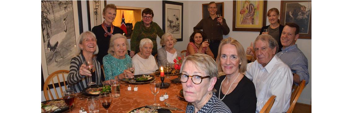 Progressive Dinner - Nov 6, 2015