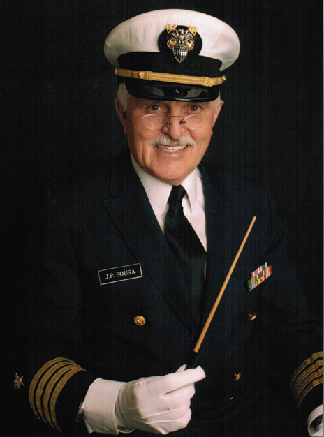 As conductor and composer John philip sousa.