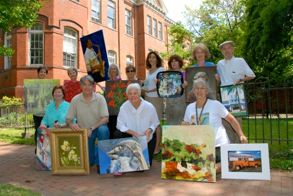 jackson artists exhibit their work at open houses twice a year.