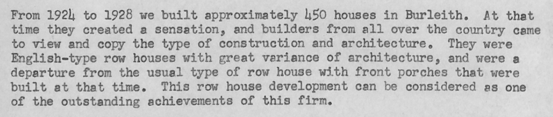 Excerpt from a 1956 memo from Shannon & Luchs to ad agency henry j. kaufman & associates. Source: Box 17, Folder 10, Shannon & Luchs Archive, American University Archives and Special Collections.