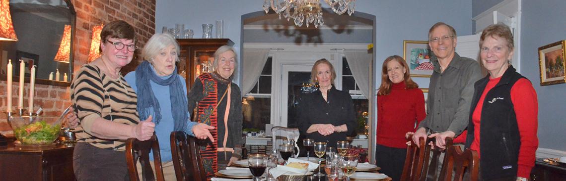 Pot Luck at home of Monique Wedderburn - Feb 5, 2016