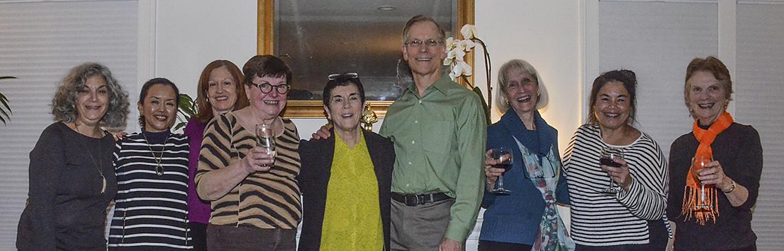 Pot Luck Dinner at home of Pat Davies - Jan 6, 2017