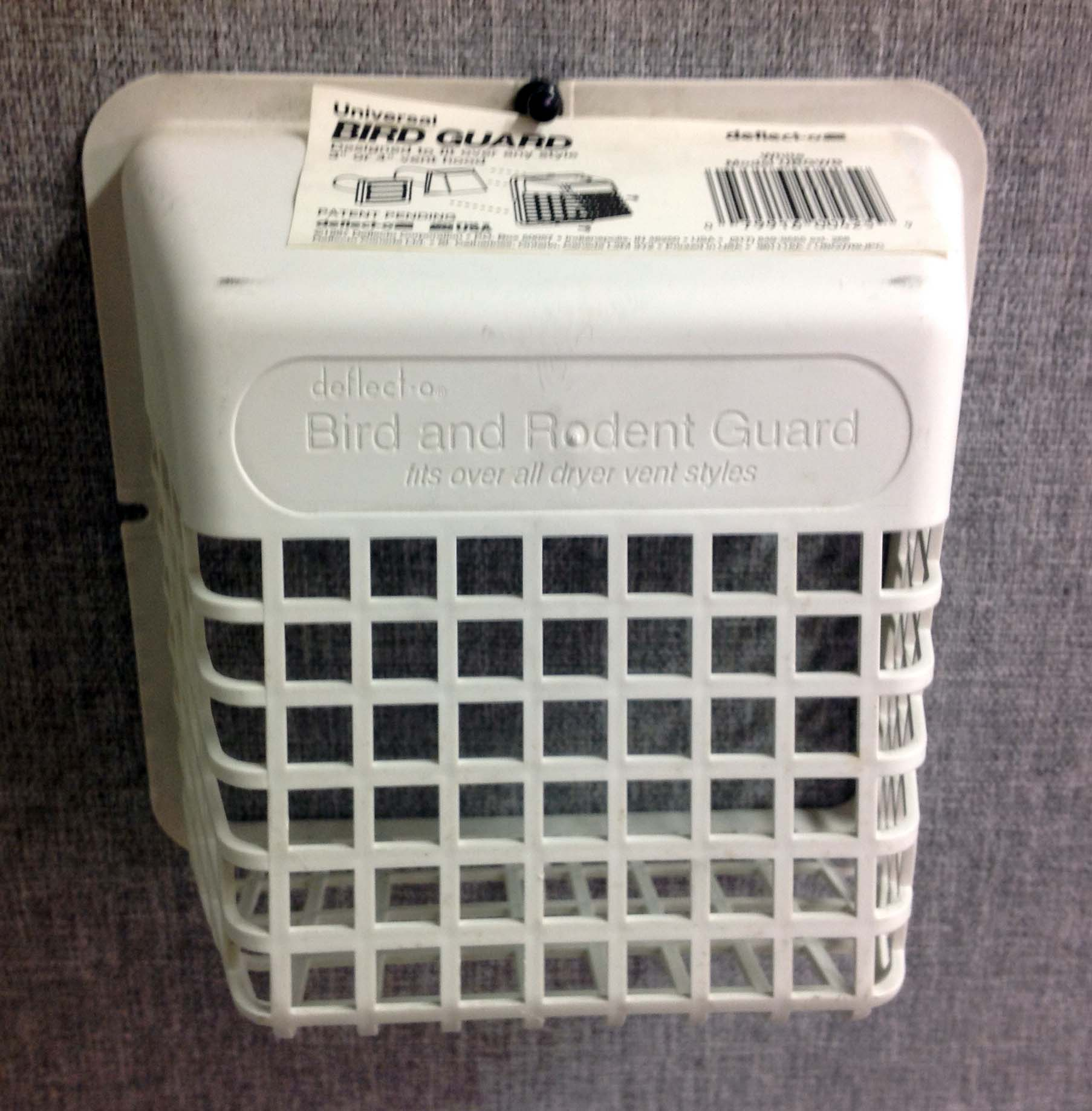 A tisket, a tasket, does your outdoor vent need a basket? City Wildlife is giving away vent baskets while the supply lasts. Call (202)882-1000.