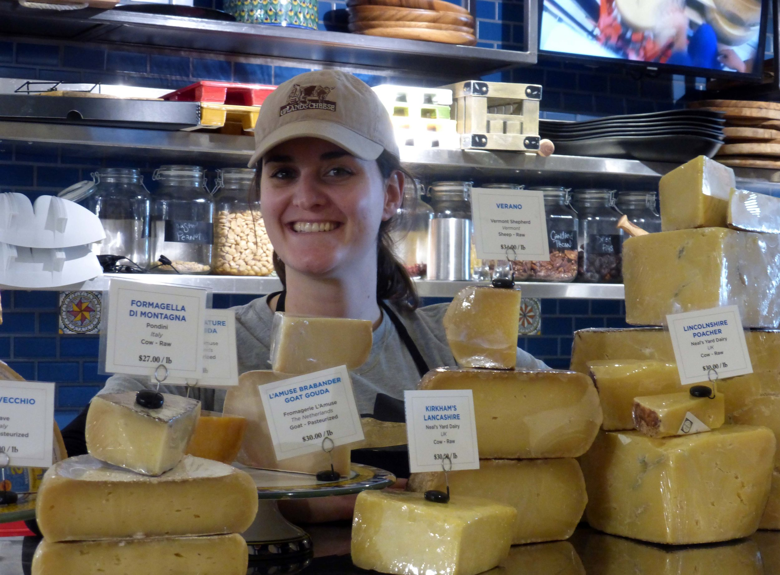 Cheesemonger Alice Bergen Phillips sources cheeses from Europe and as nearby as prince georges county.