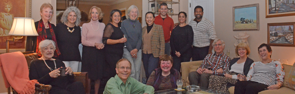 Cocktail Buffet at home of Pat Scolaro - Dec 1, 2017