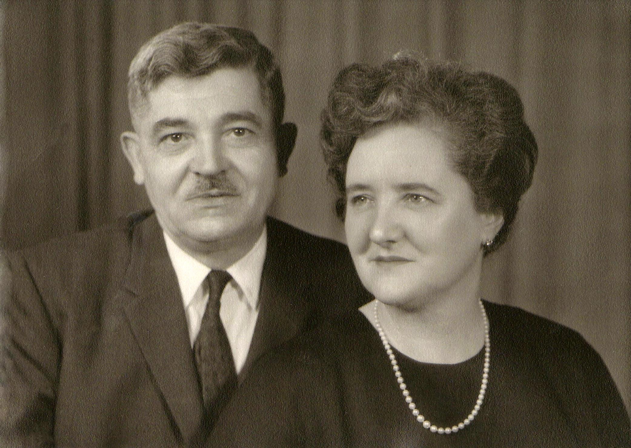 Voya and  Odette  Pantelich, undated.