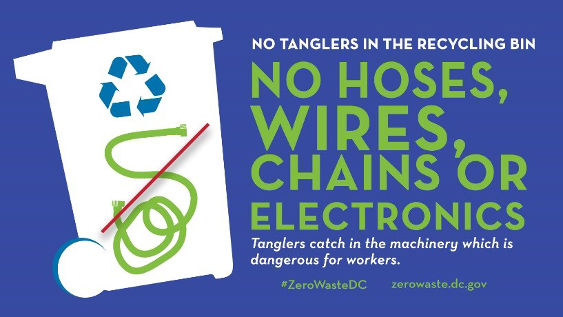 """For more on Zero Waste DC, visit  zerowaste.dc.gov . check out its handy """"What Goes Where?"""" tool."""