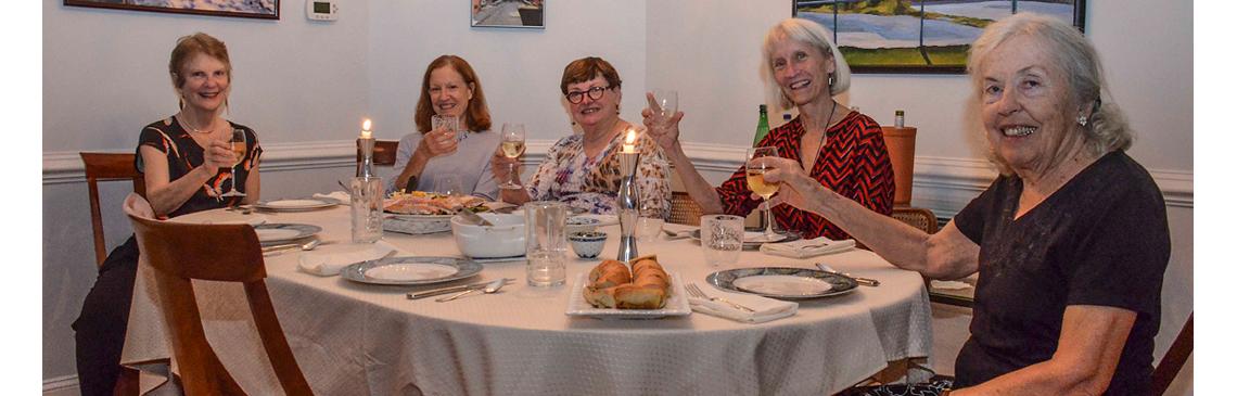Pot Luck Dinner at Home of Monica Irmler - Oct 5, 2018
