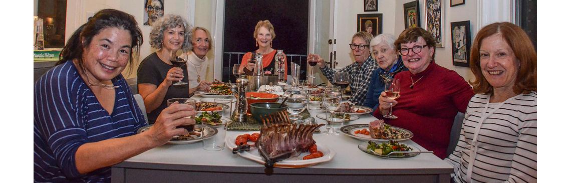 Pot Luck Dinner at Home of Tess Martinez - Nov 2, 2018