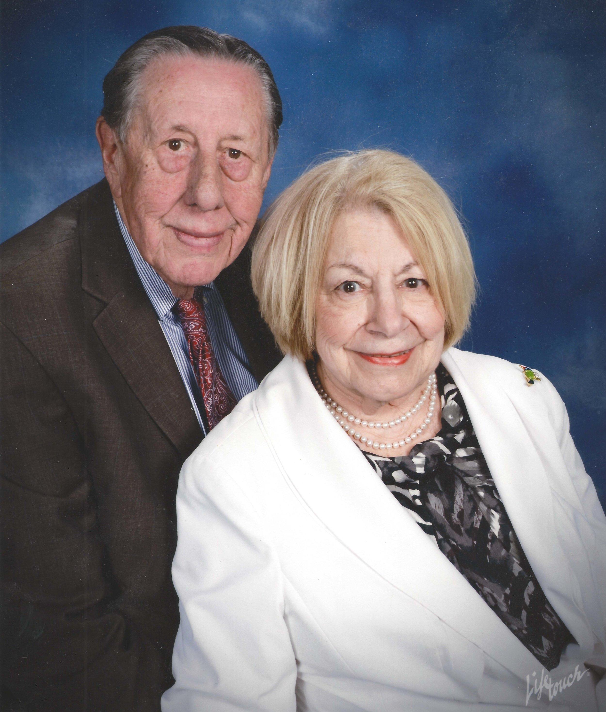 Larry (1934–2018) and Irene Schaffner.
