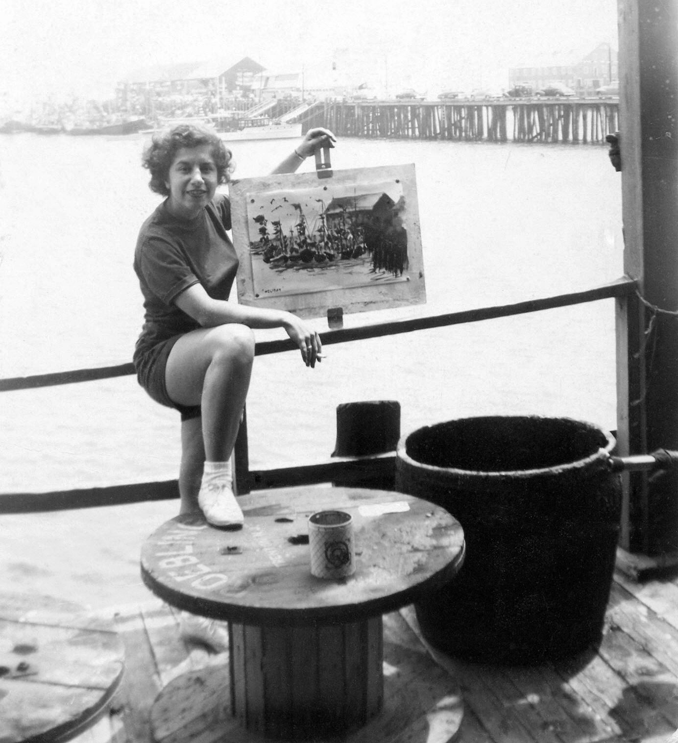 Irene at Provincetown, MA, 1960s.