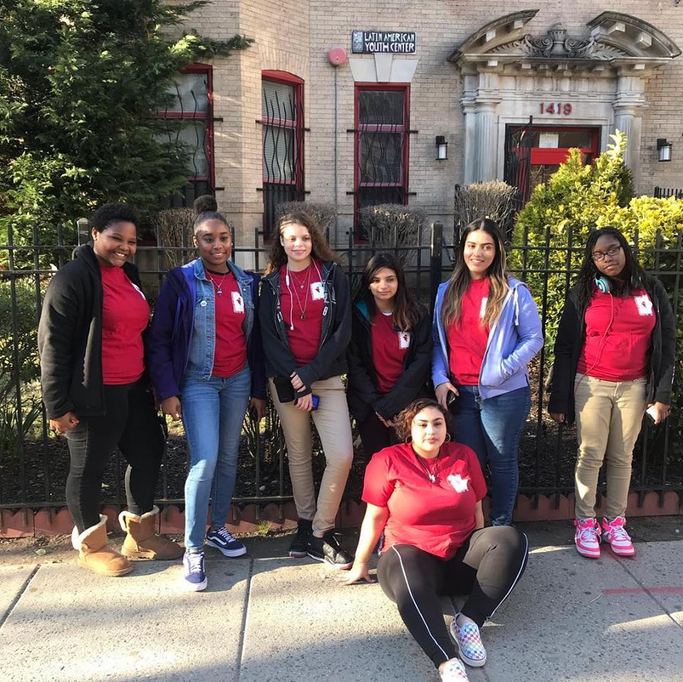 Members of our Youth Prevention Leadership Corps, who come from Wards 1 and 2.