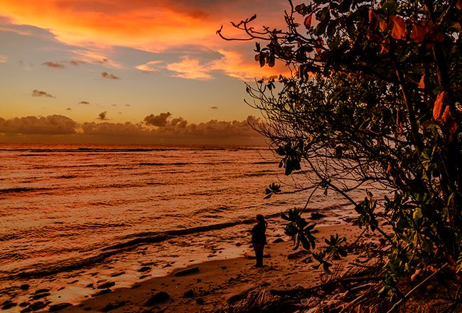 Cocos-Keeling Islands sunset. Photo Claudia Jocher (c) 2013