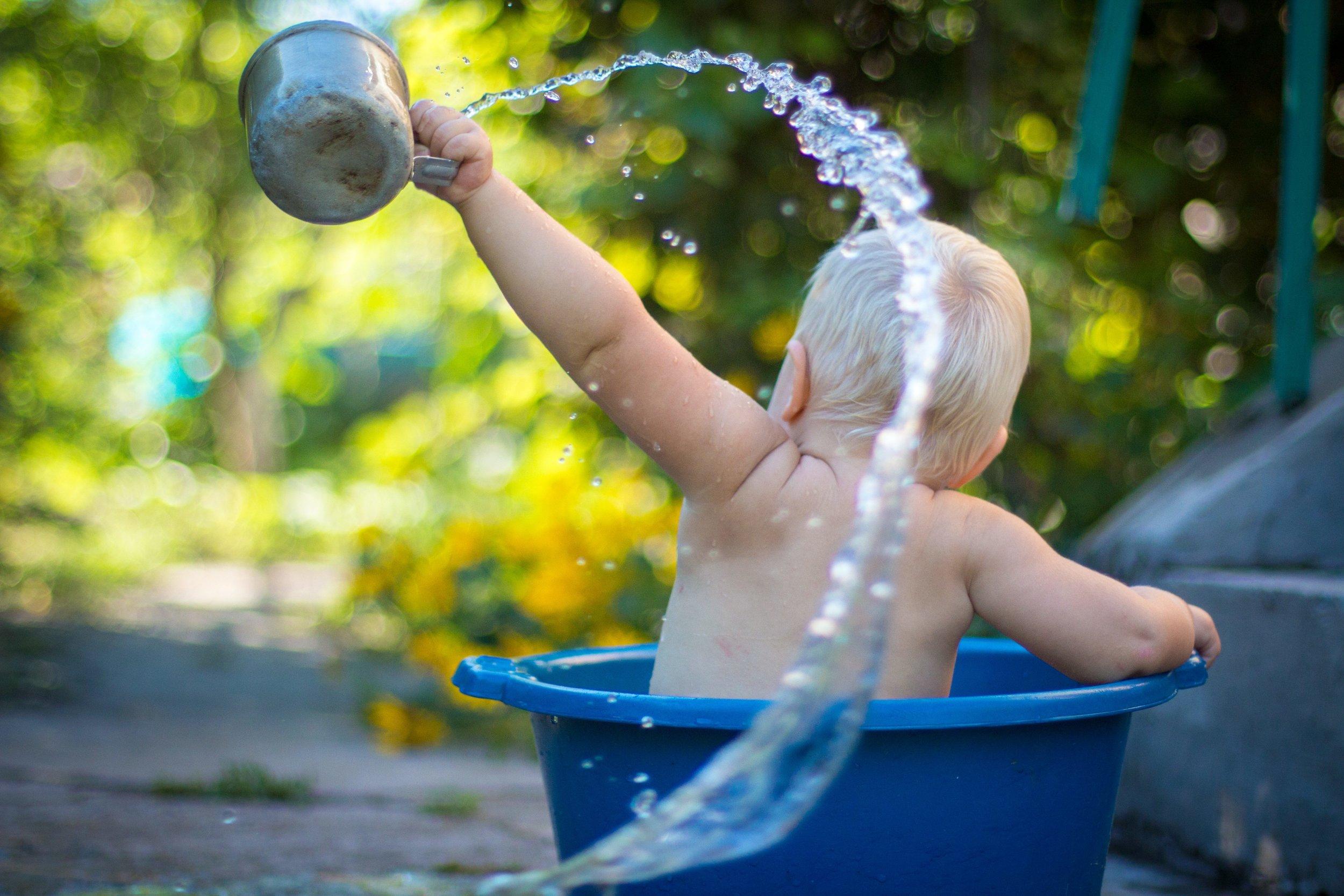 Exuberant baby photo by  Lubomirkin .