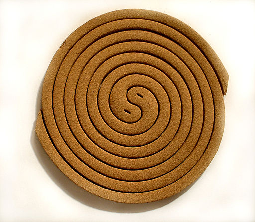 Mosquito coils - seemed to demonstrate the ubiquity of yin-yang.  Haragayato .