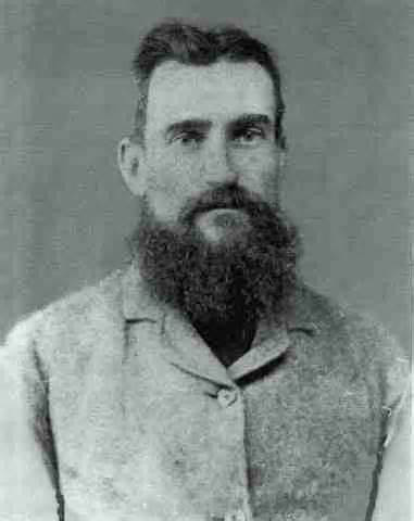 Captain Thunderbolt, the bushranger. Grandad's stories of his exploits taught me about landmarks in Dunghutti country.  Public Domain  picture.