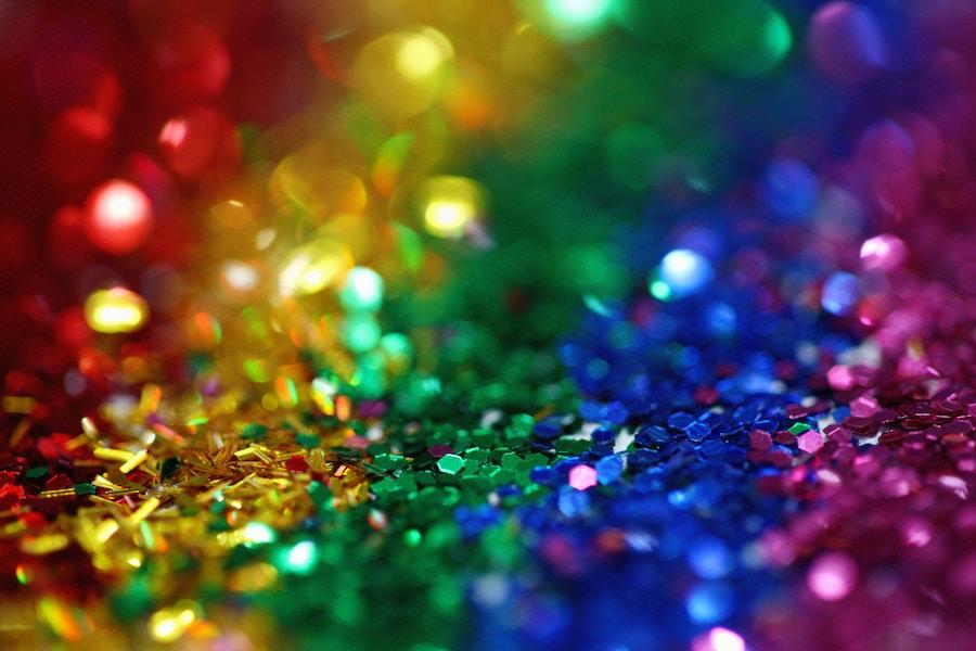 Rainbow celebration pic by  Sharon McCutcheon .