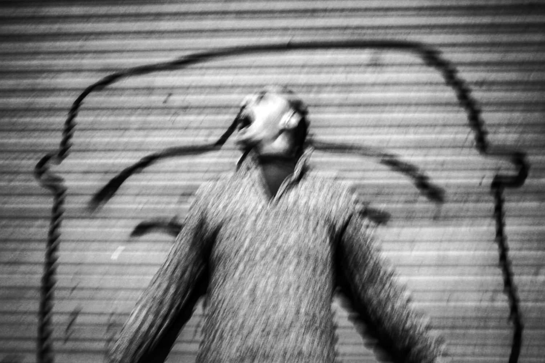 Josep, Obdachloser, Poble Sec, Barcelona, 2011