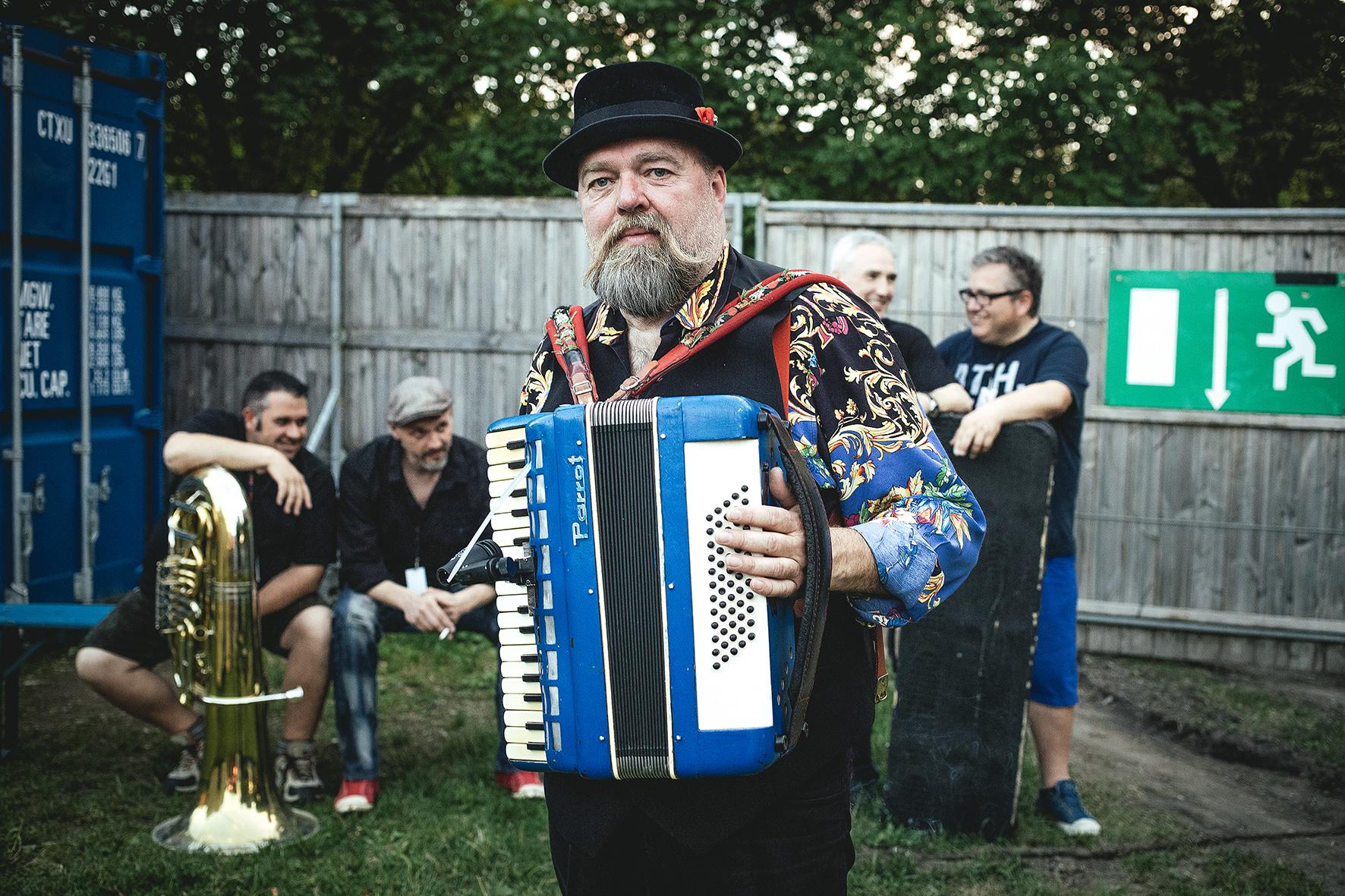 Braxnmaxn at Tollwood festival, Munich, Germany, 2014