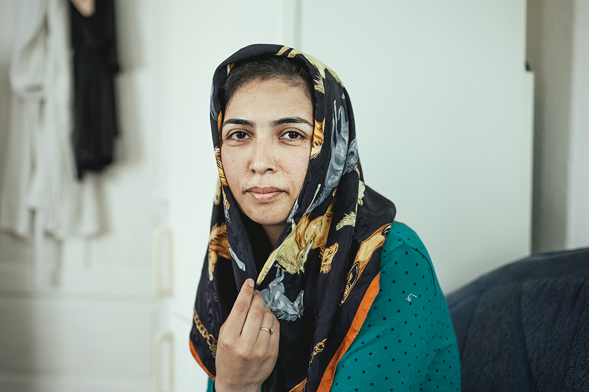 Laylama Latifi, from Afghanistan, Schliersee, Germany, 2015