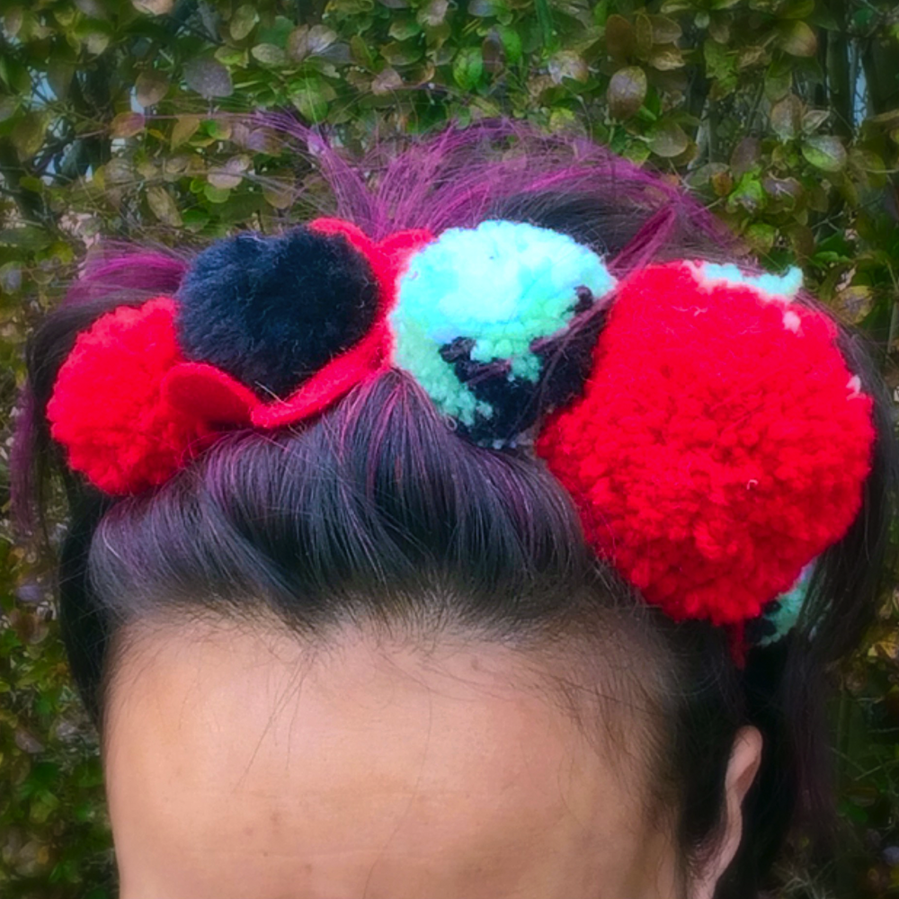 Pom-Pom Friday Headband, $14.00