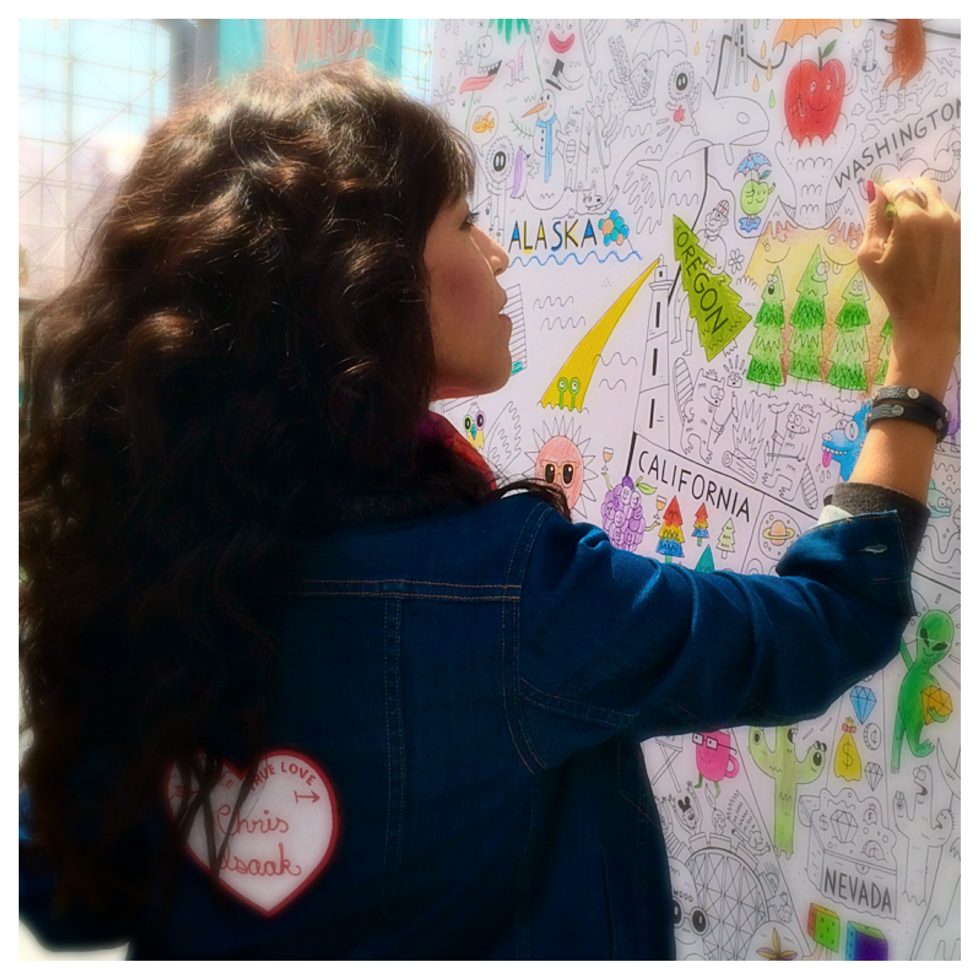 Dionne making her Mark at Surtex, Javits Center, NY, NY.