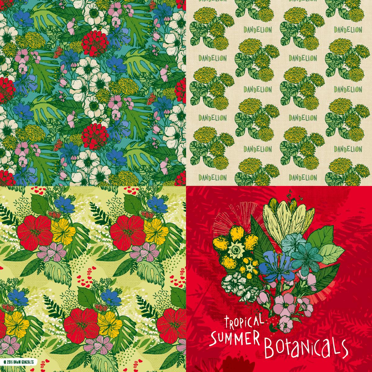 Summer Botanicals Collection