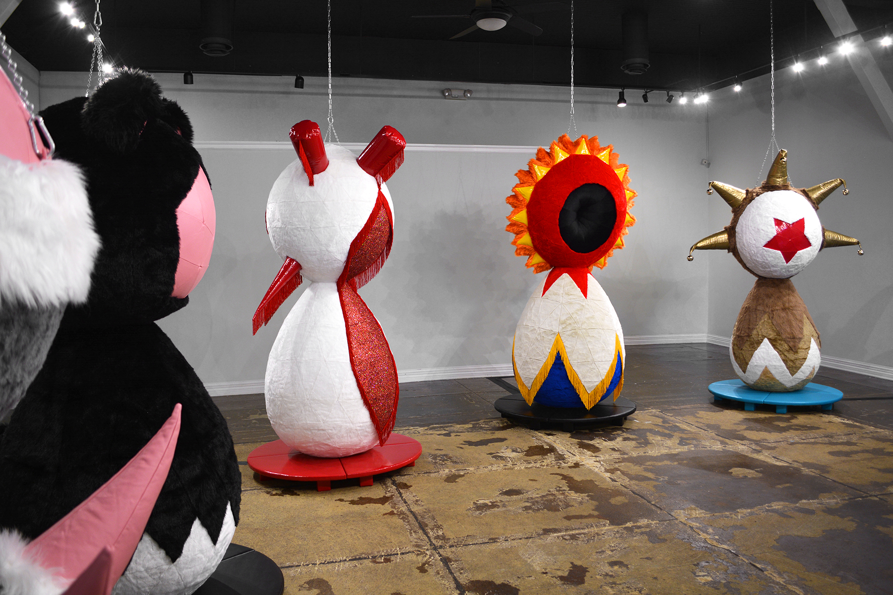 The Sensational Inflatable Furry Divines , Yeiser Art Center, Paducah, Ky. 2019
