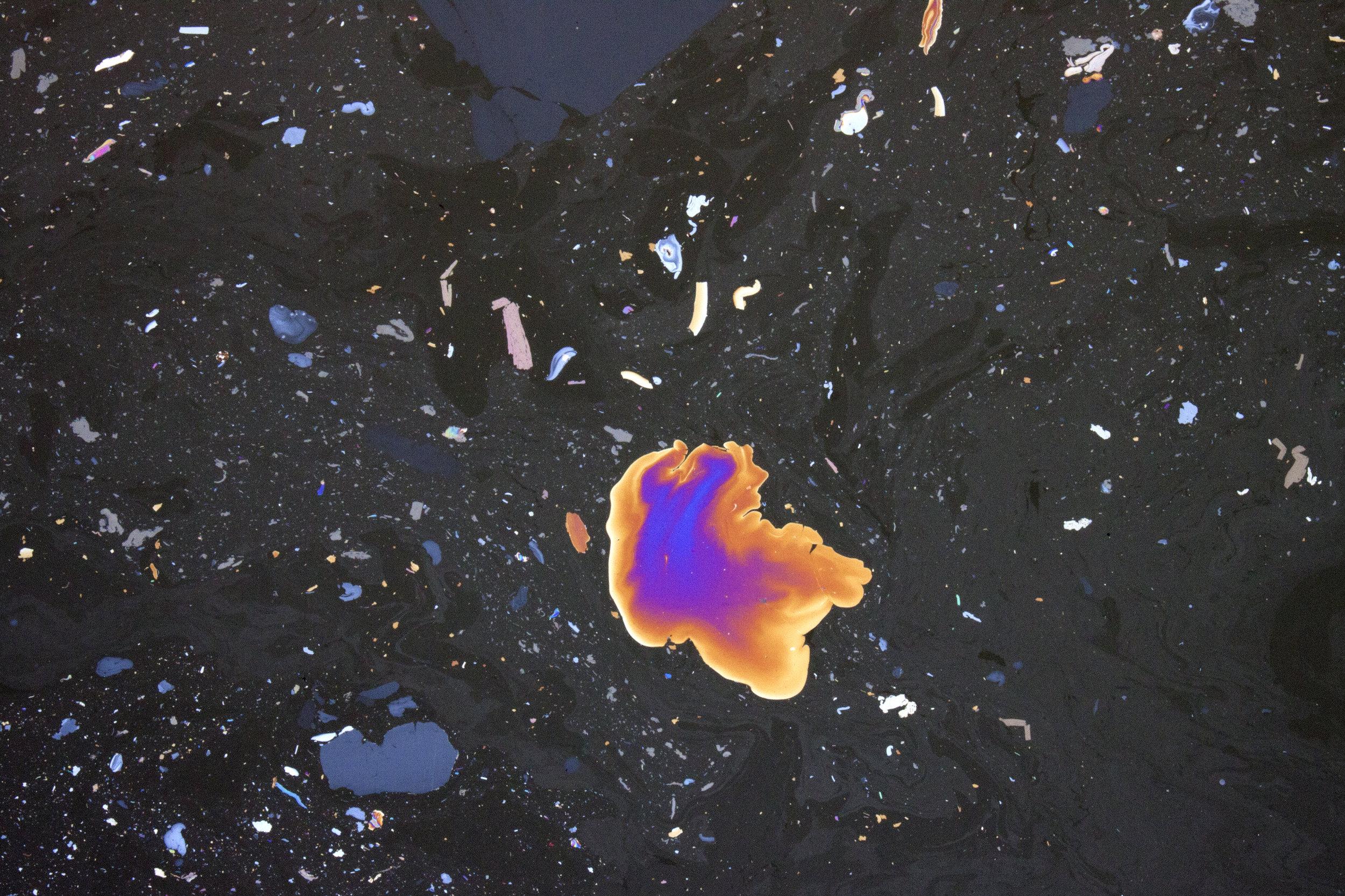 """Celestial Gowanus, #2"" 13x19"" Archival Pigment Print, 2016"