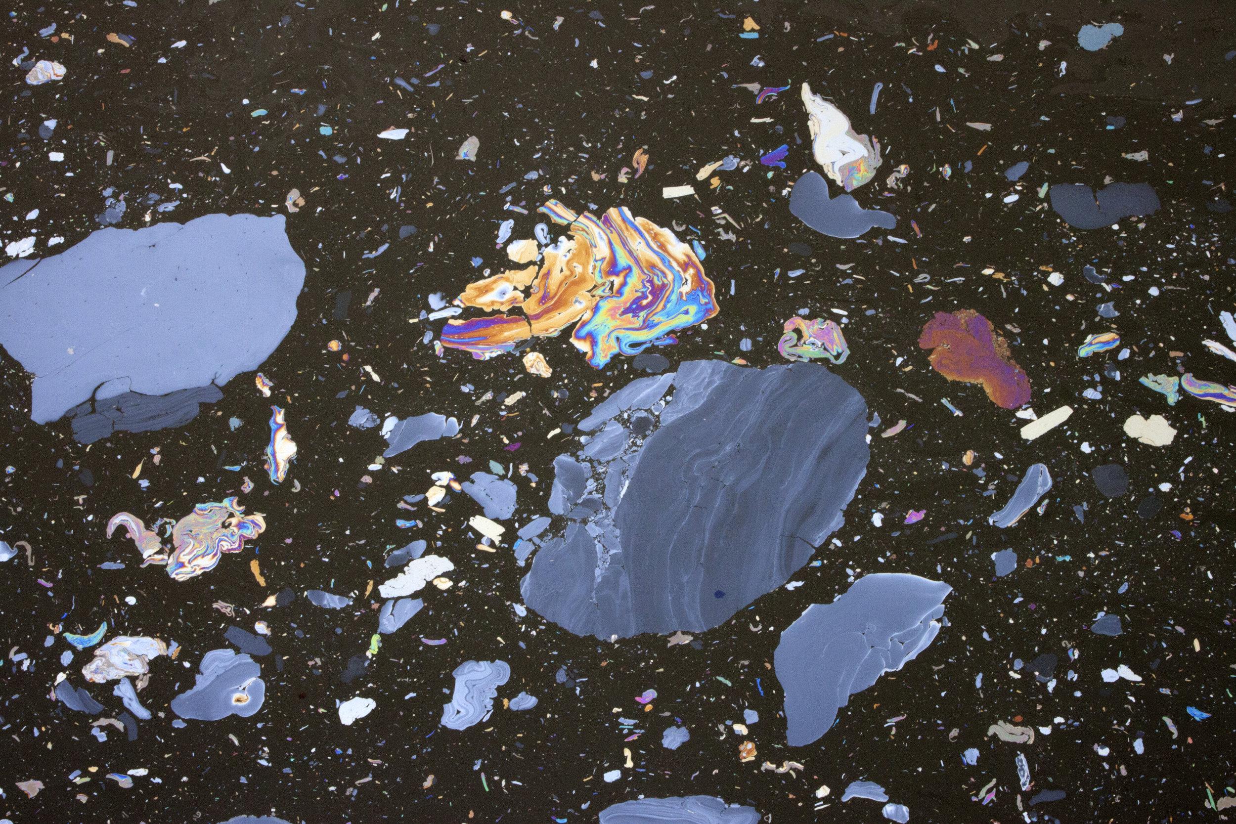 """Celestial Gowanus, #7"" 13x19"" Archival Pigmetn Print, 2016"