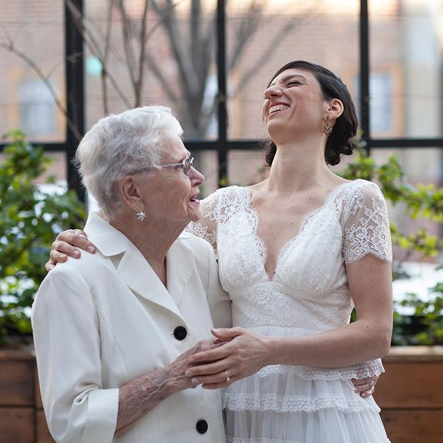 Grandmas are the best! I always loved this shot of Allison and her granny. 💞 Photo by @banderaweddingphotography