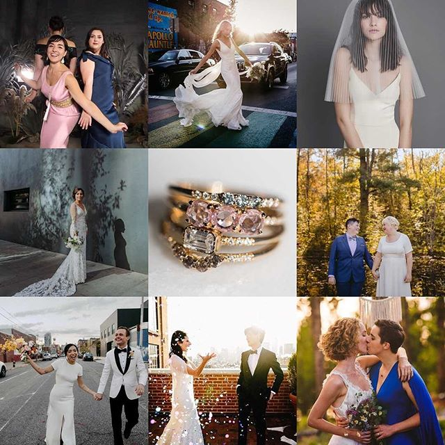 Happy new year, love bugs! 🥳 2018 was certainly a year we won't forget. In a world that is ever changing and at times fucken insane... we are so thankful to be surrounded by such a warm community of fellow wedding pros and all of our rad couples who share their love story with us. This was the biggest year for our little party company, and we're looking forward to more fun and confetti in 2019!💋🥂 #topnine2018 📸: @studiosphotobooths  @bonniejenkins @wayfarerbride @ambergressphotography @catbirdnyc @carlyromeoandco @unique_lapin @chazcruz @sarahschultztaylor