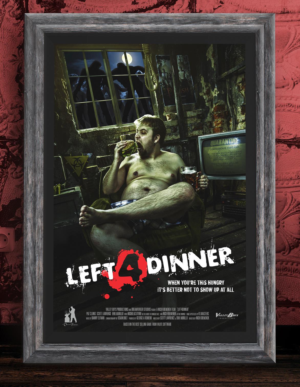 Left4Dinner Poster