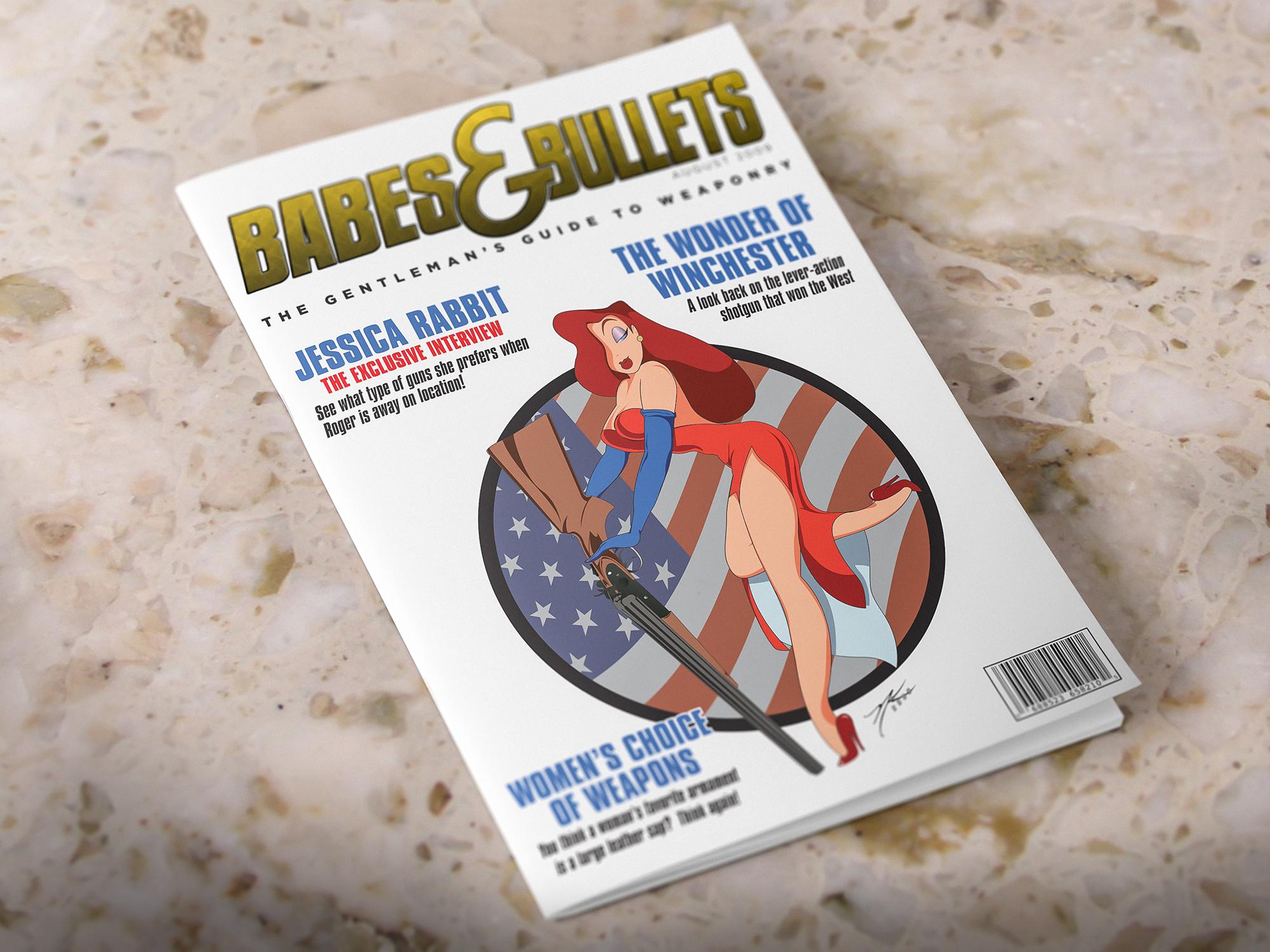 """Babes & Bullets Magazine (feat. Jessica Rabbit)"""