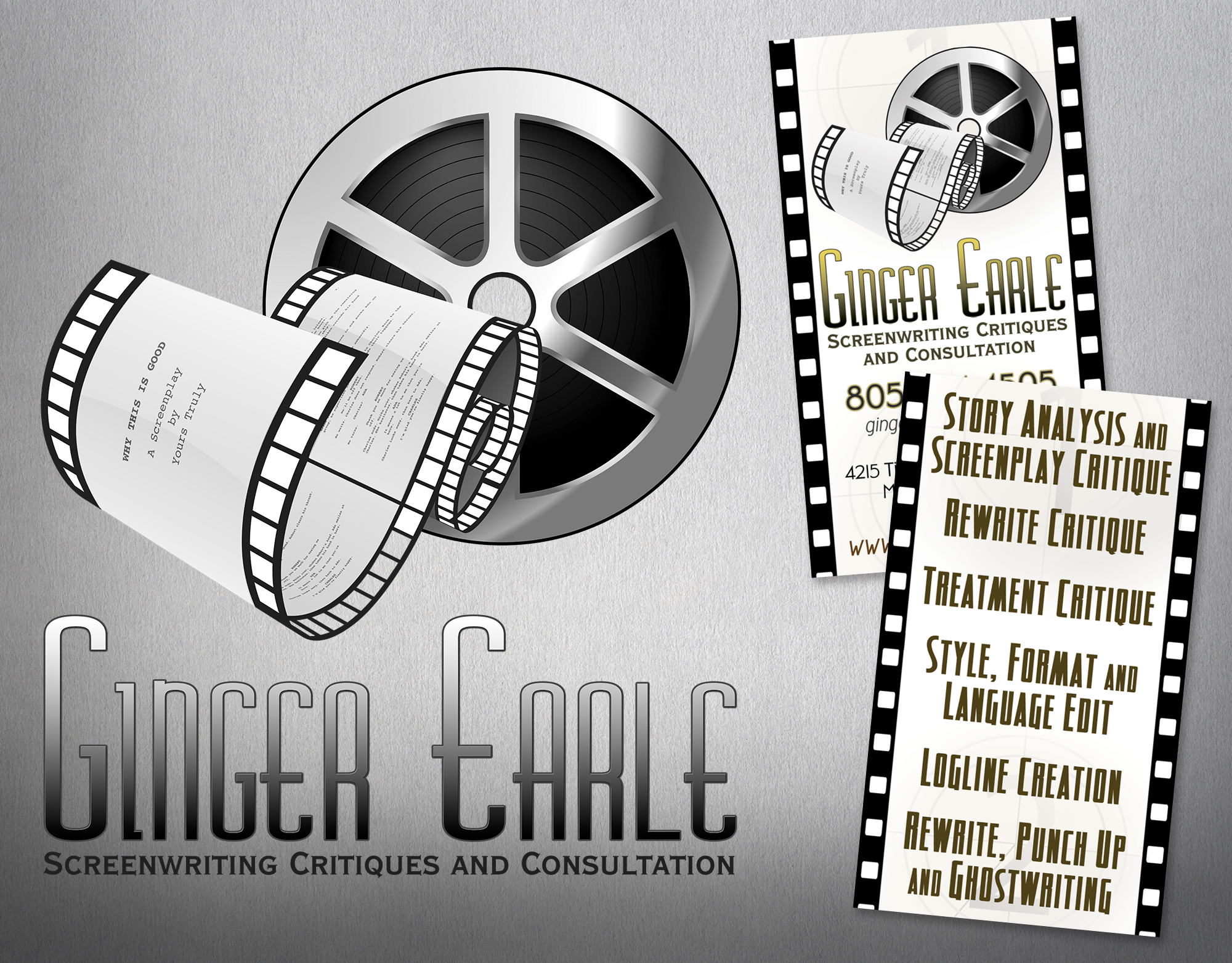 Ginger Earle Screenwriting Critiques & Consultation