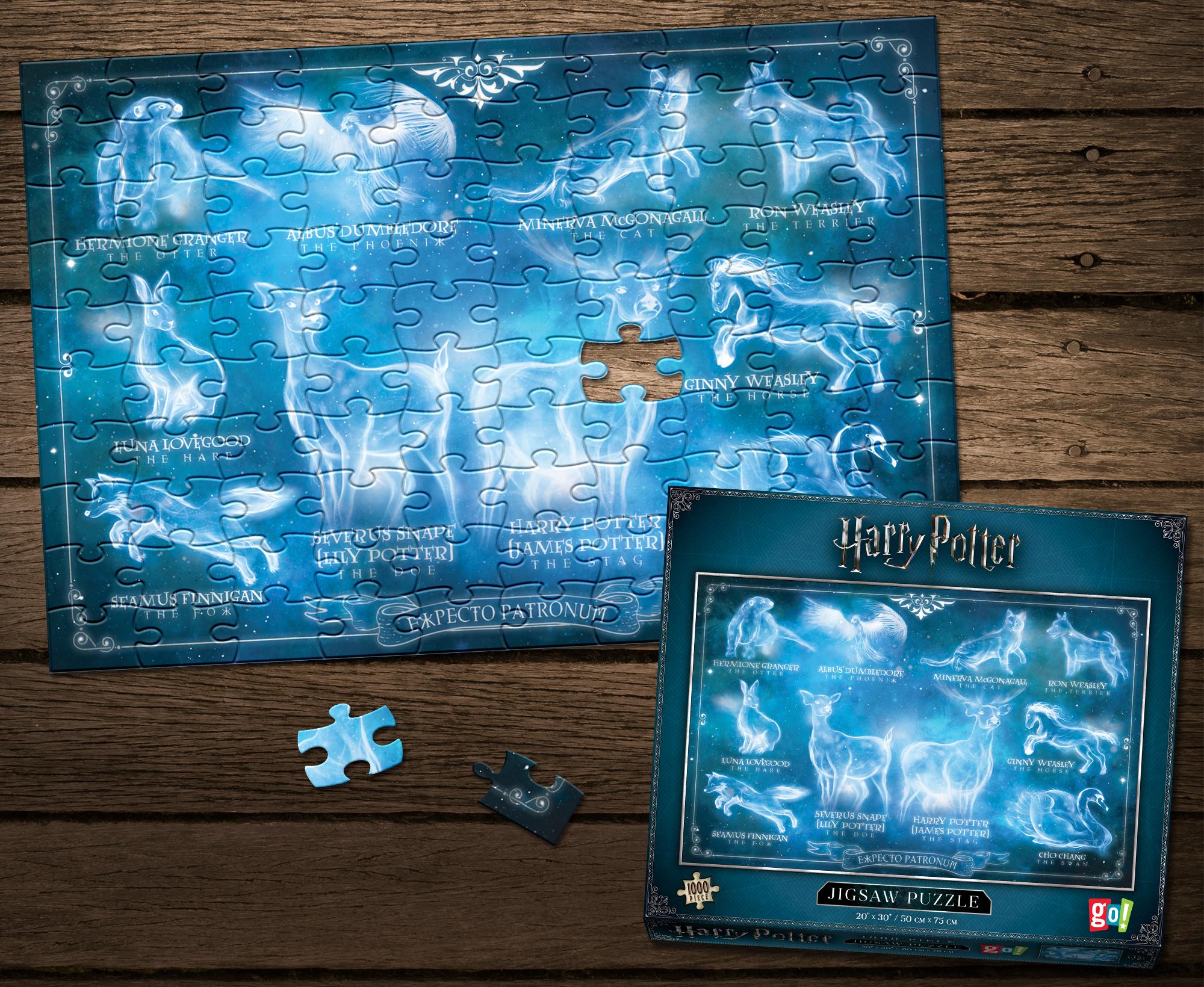 "Harry Potter ""Expecto Patronum"" 1000-pc Puzzle"