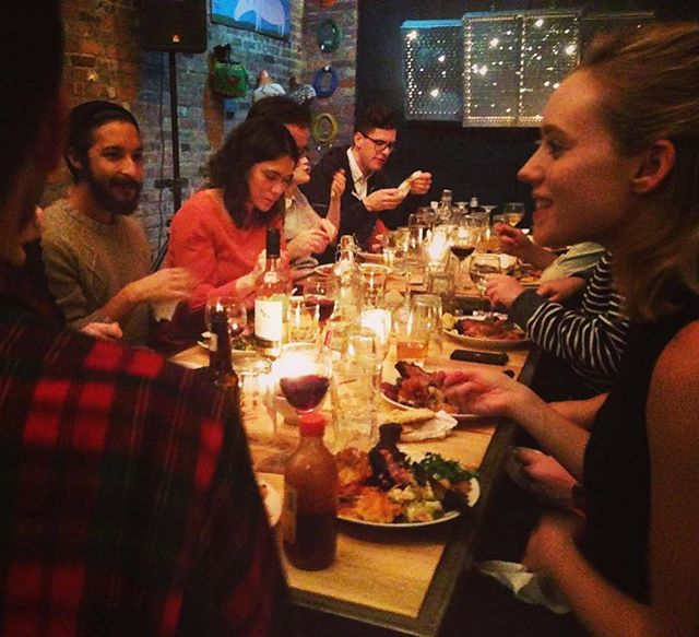 267 Friendsgiving in 2014! #supperclubs