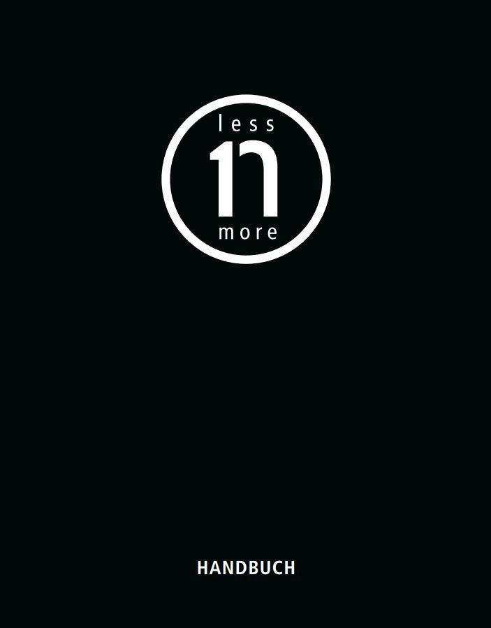 Less'n'more Handbuch 2014