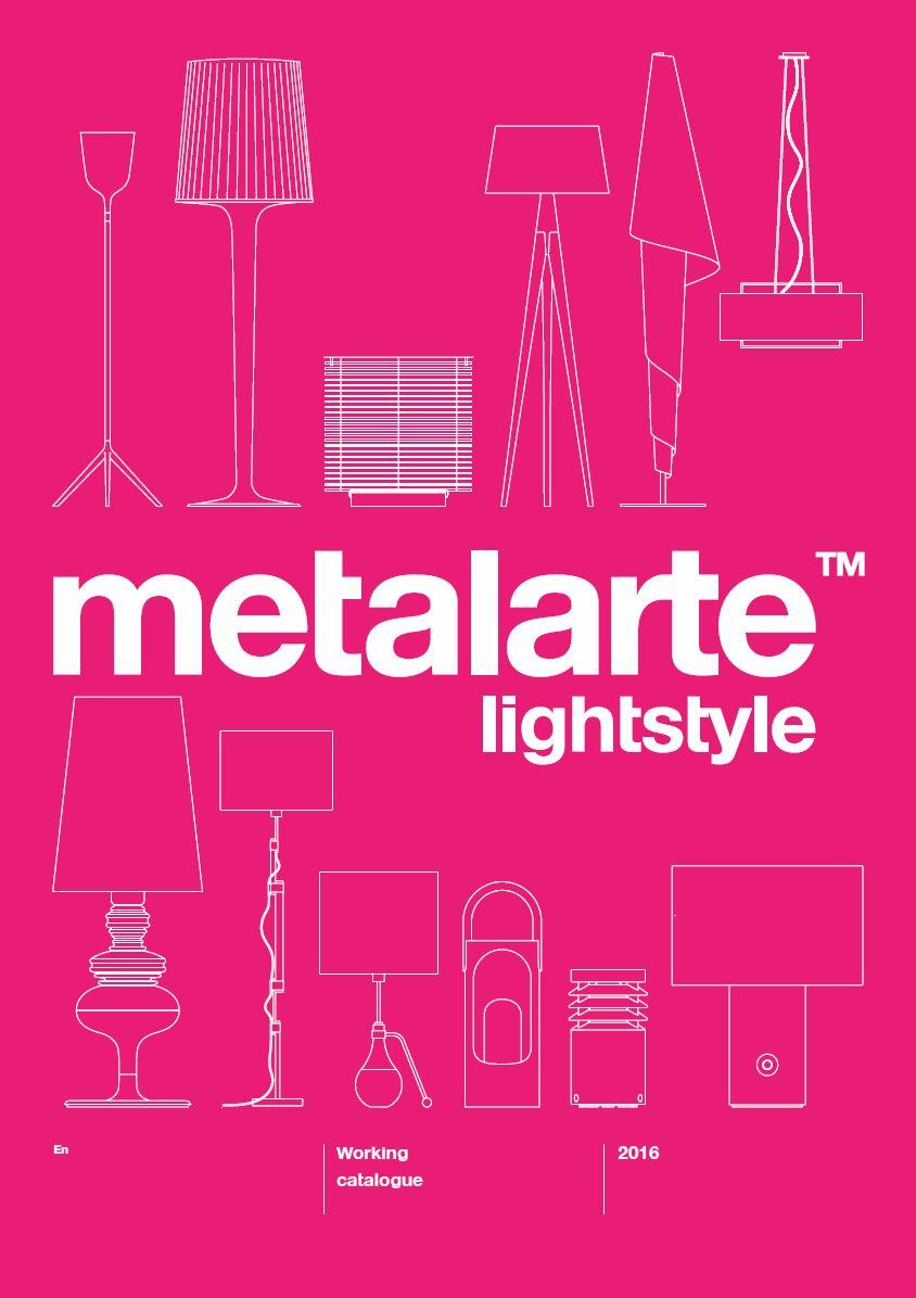 Metalarte Working catalogue 2016