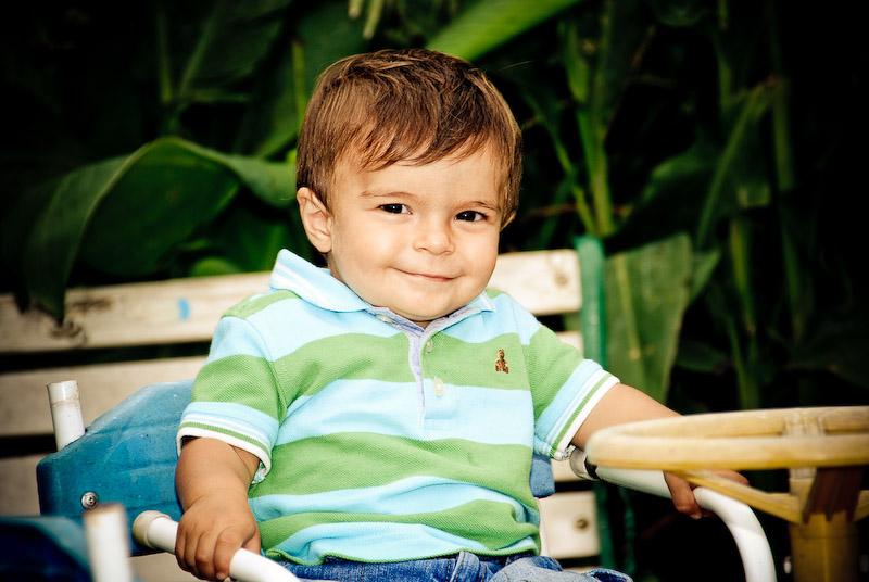 Gonzalo cumpliendo un año (Marzo 2009)