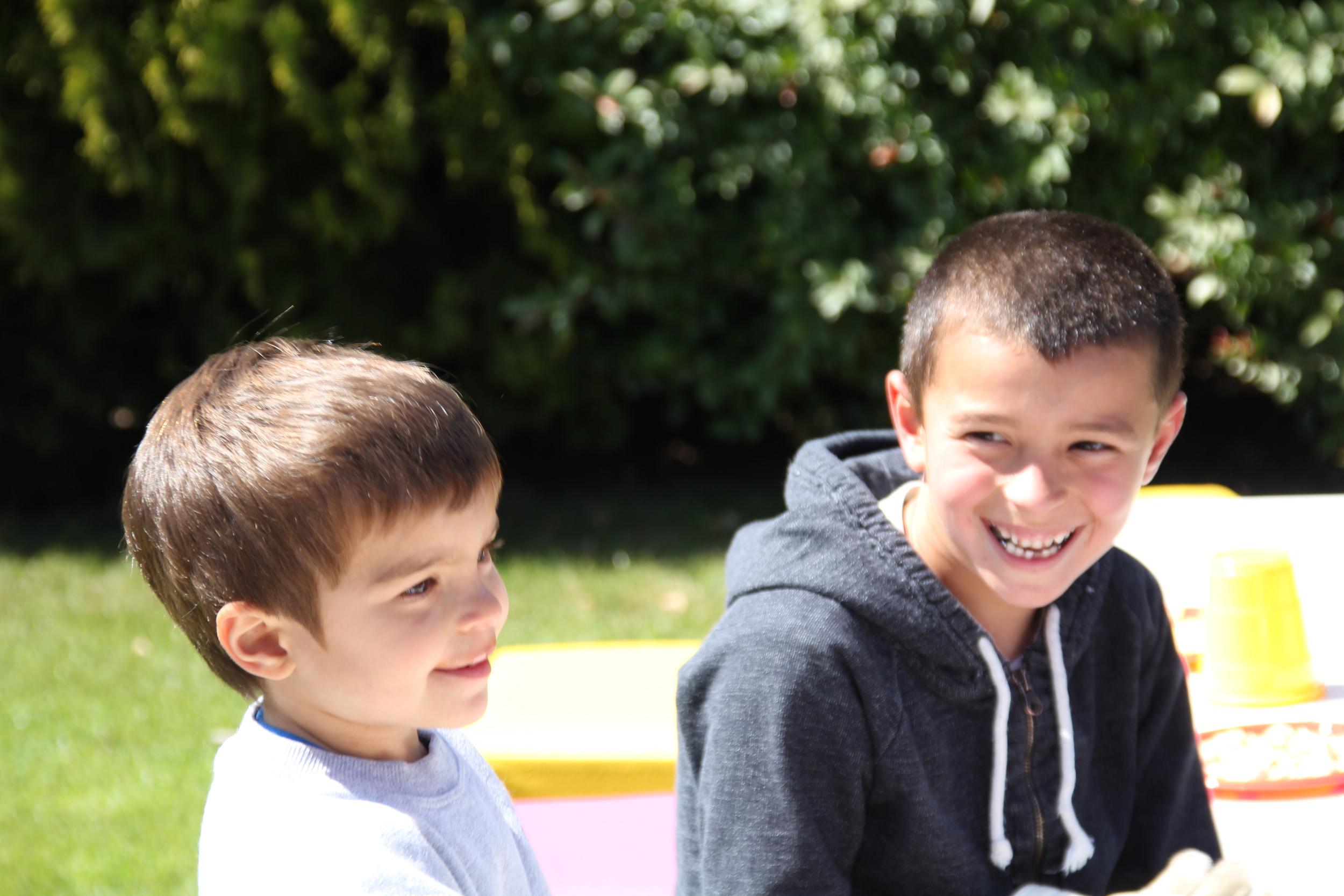Gonzalo y Mateo