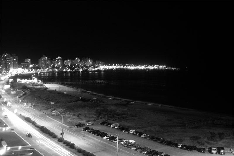 Punta del Este de noche